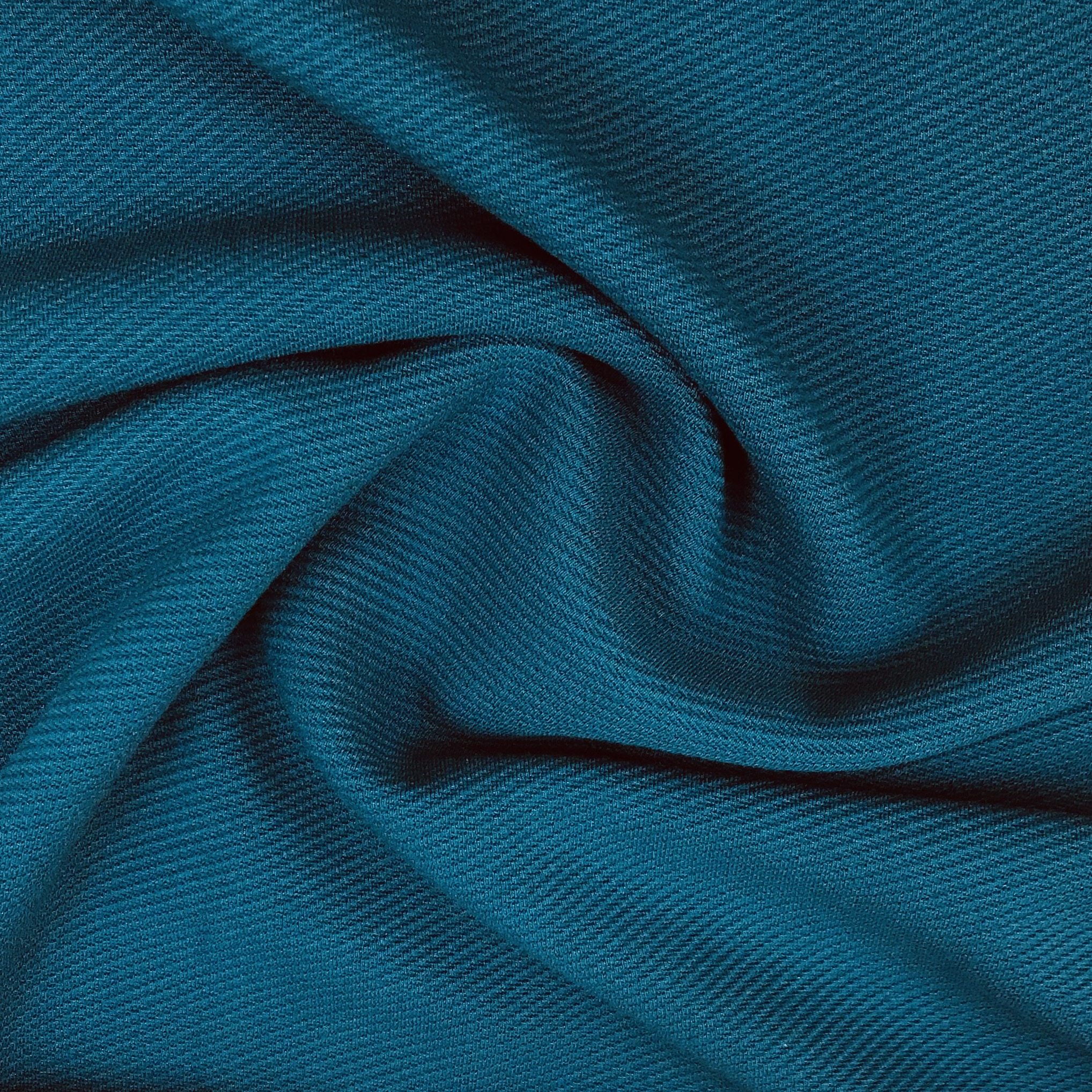 Comfort Romanit Jersey, gerippt, petrol. Art. SW11245
