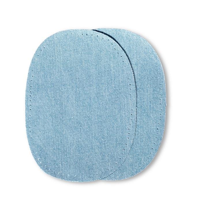 Patches Jeans, aufbügelbar, 10 x 14cm, hellblau. Art. 929300