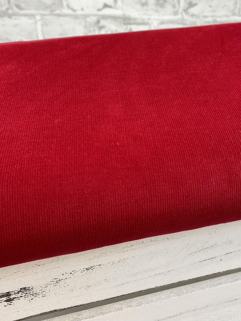 Feincord gewaschen, rot. Art. 4809/15