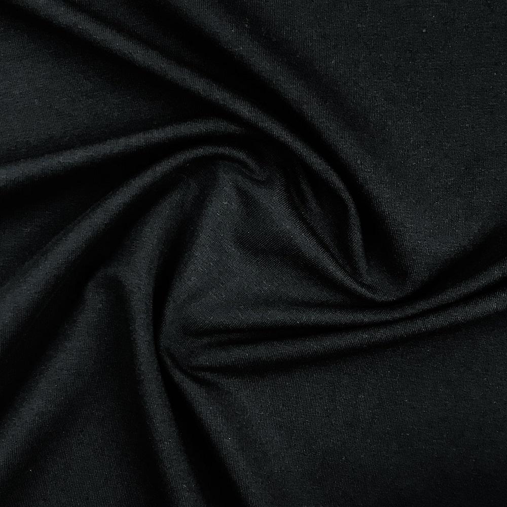 French Terry/Sommersweat, unangeraut, schwarz, uni. Art. 8985/69