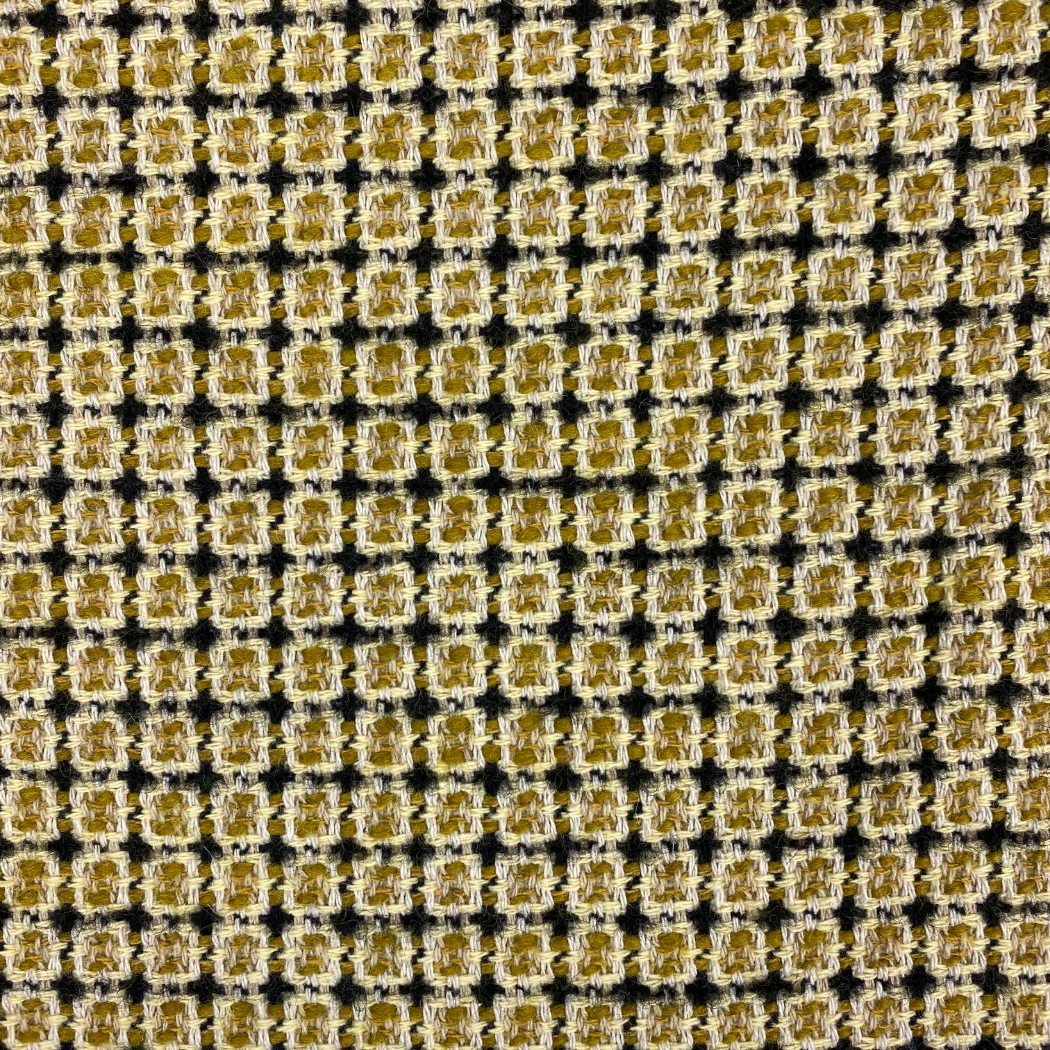 Mantelstoff, Buntgewebe Wolle, senf. Art. 3332-02