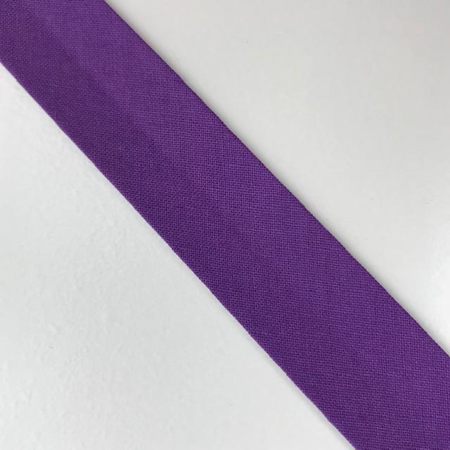 Baumwollpopeline - Schrägband, violett. Art. SW11657
