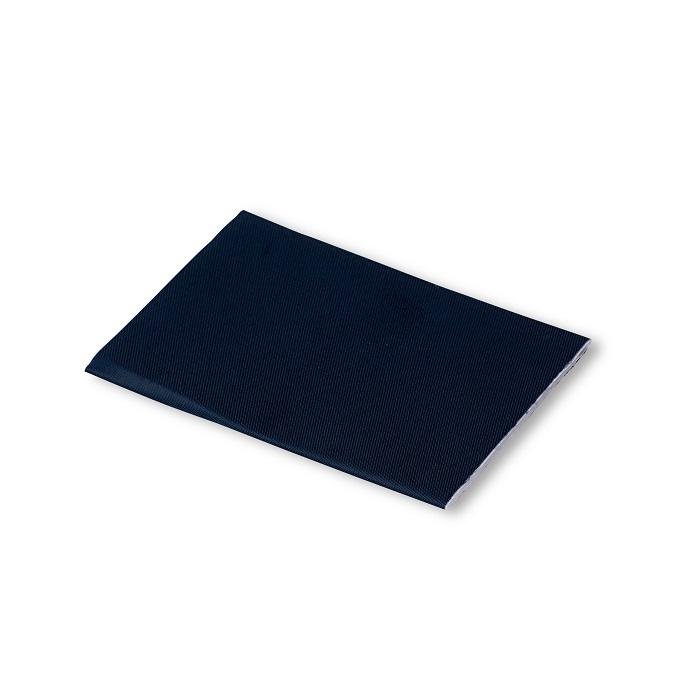 Klebeflicken Nylon, 10 x 18cm, dunkelblau. Art. 929501