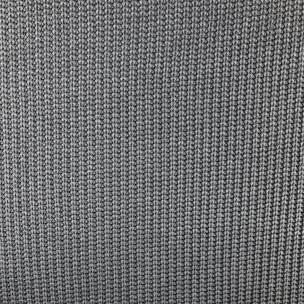 Grobstrick Baumwolle, graublau. Art. 4453-1264