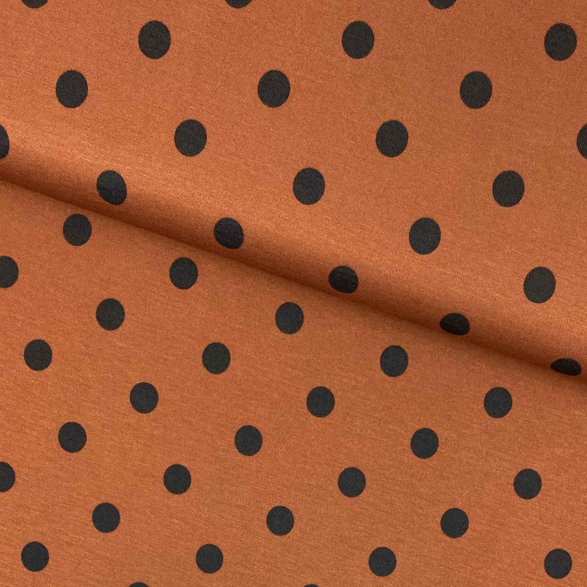 Viskosenstoff mit Elasthan, Lino rost. Art. PC1724