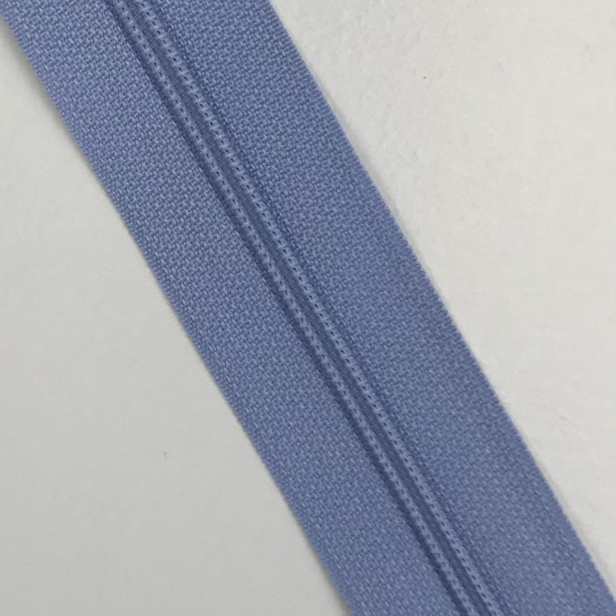 Endlosreißverschluss Meterware 3 mm, Union Knopf, hellblau, Farbe 64. Art. 4511