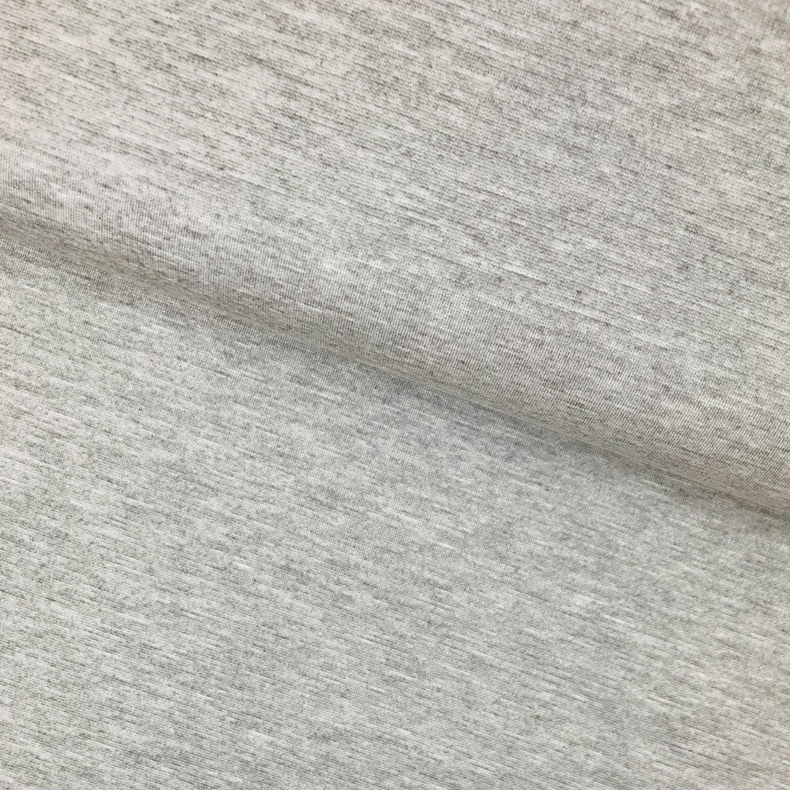Comfort Romanit Jersey, hellgrau meliert. Art. SW11247
