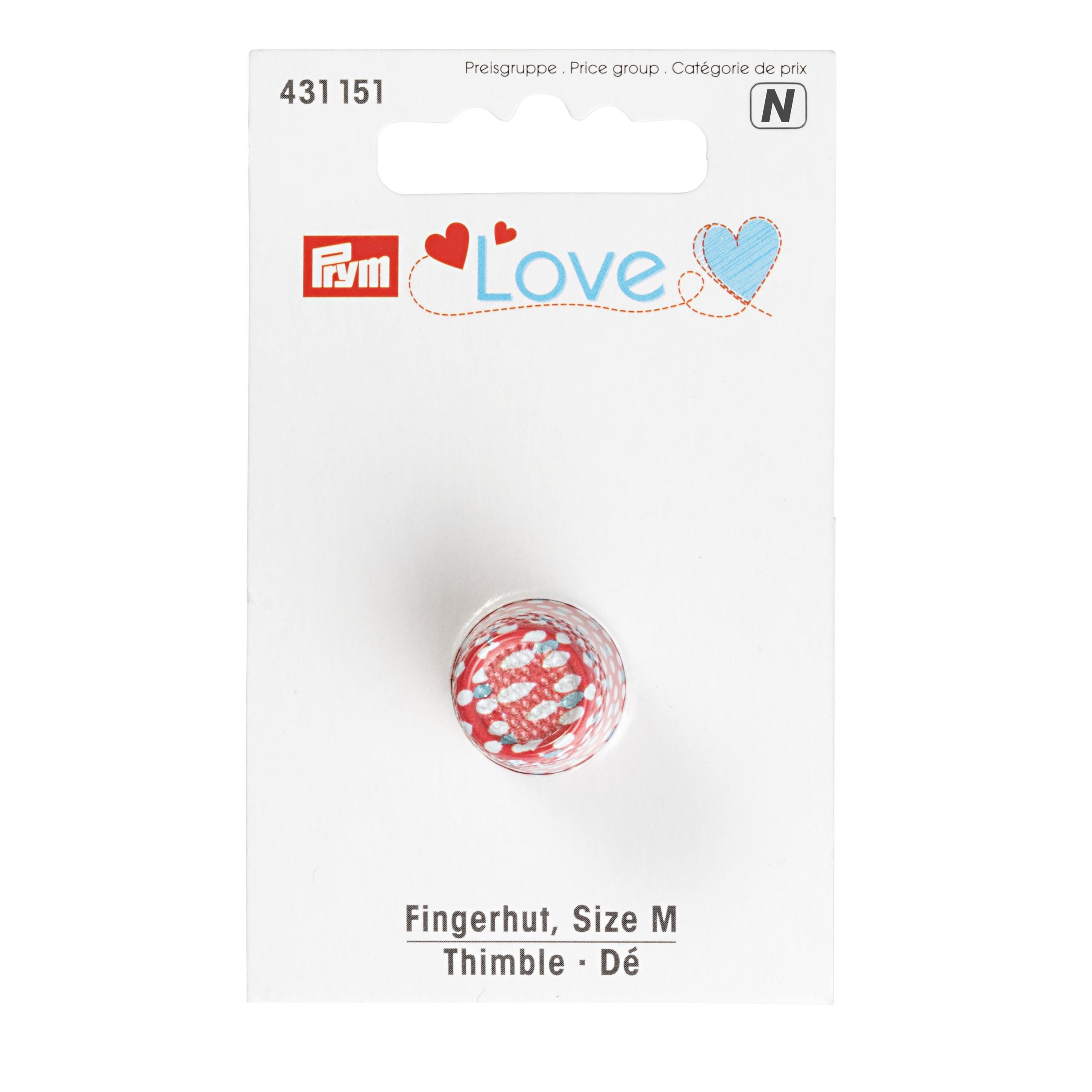 """Fingerhut  von """"Prym-Love"""", Größe M, Prym - Art. 431151"""