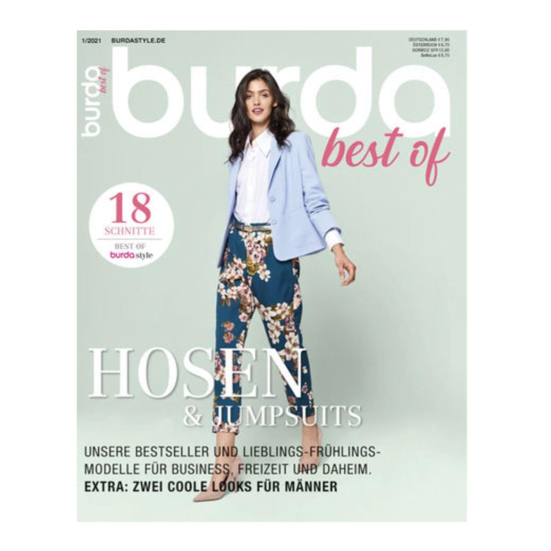 Burda special best of Hosen & Jumpsuits 01/21