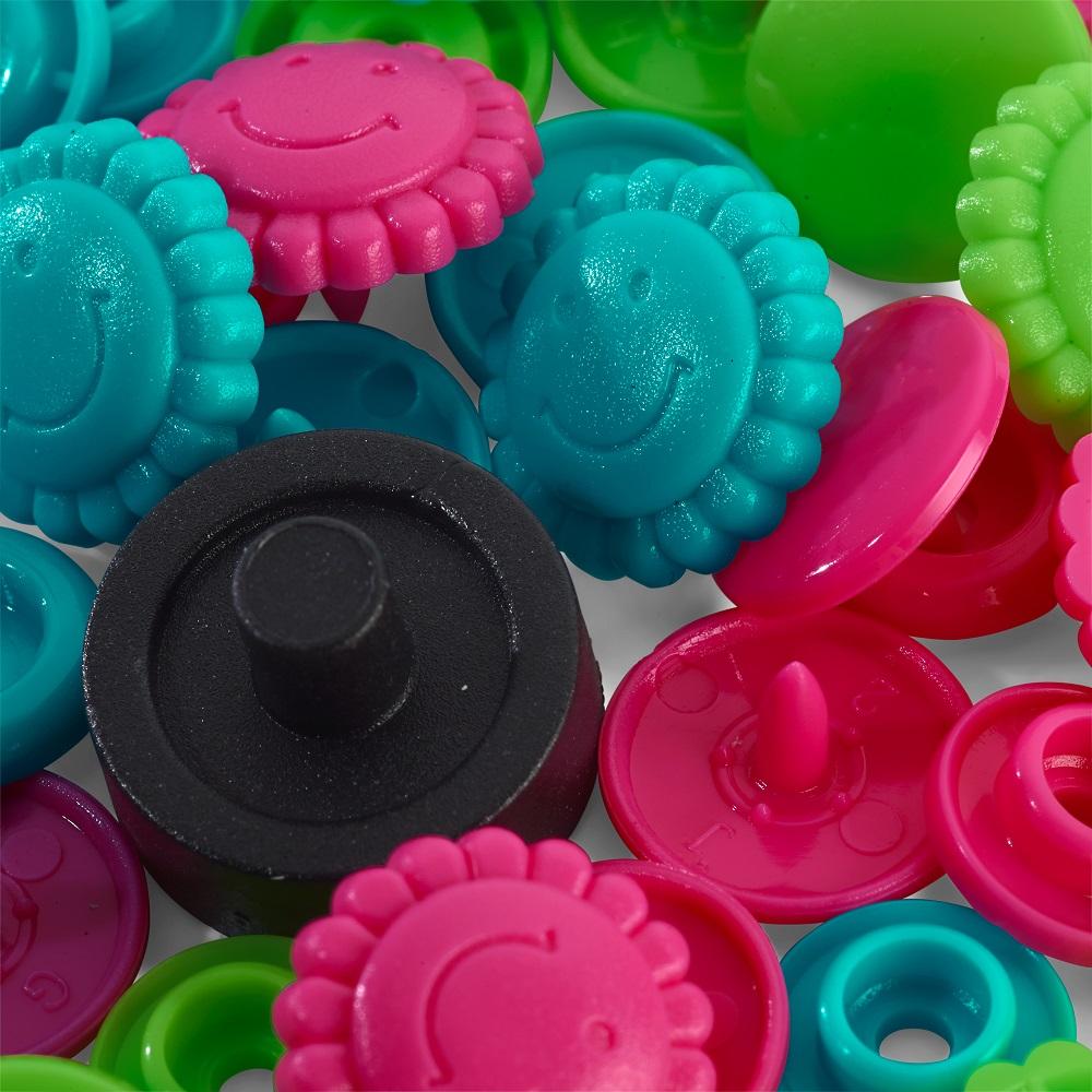 "Druckknopfe Color Snaps, Blumen, ""Prym Love"". Prym  Art. 393081"