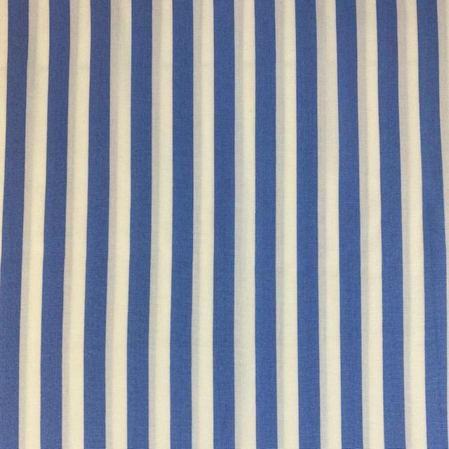 Viskose Stoff Fibre Mood #Paulette, Streifen, hellblau/weiß. Art. FM320050