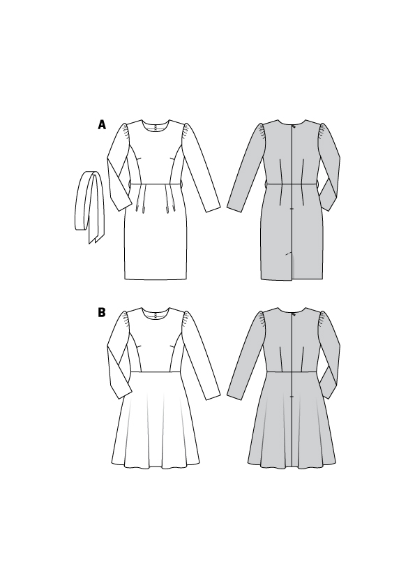 Festliche Kleider, Etuikleid #6164