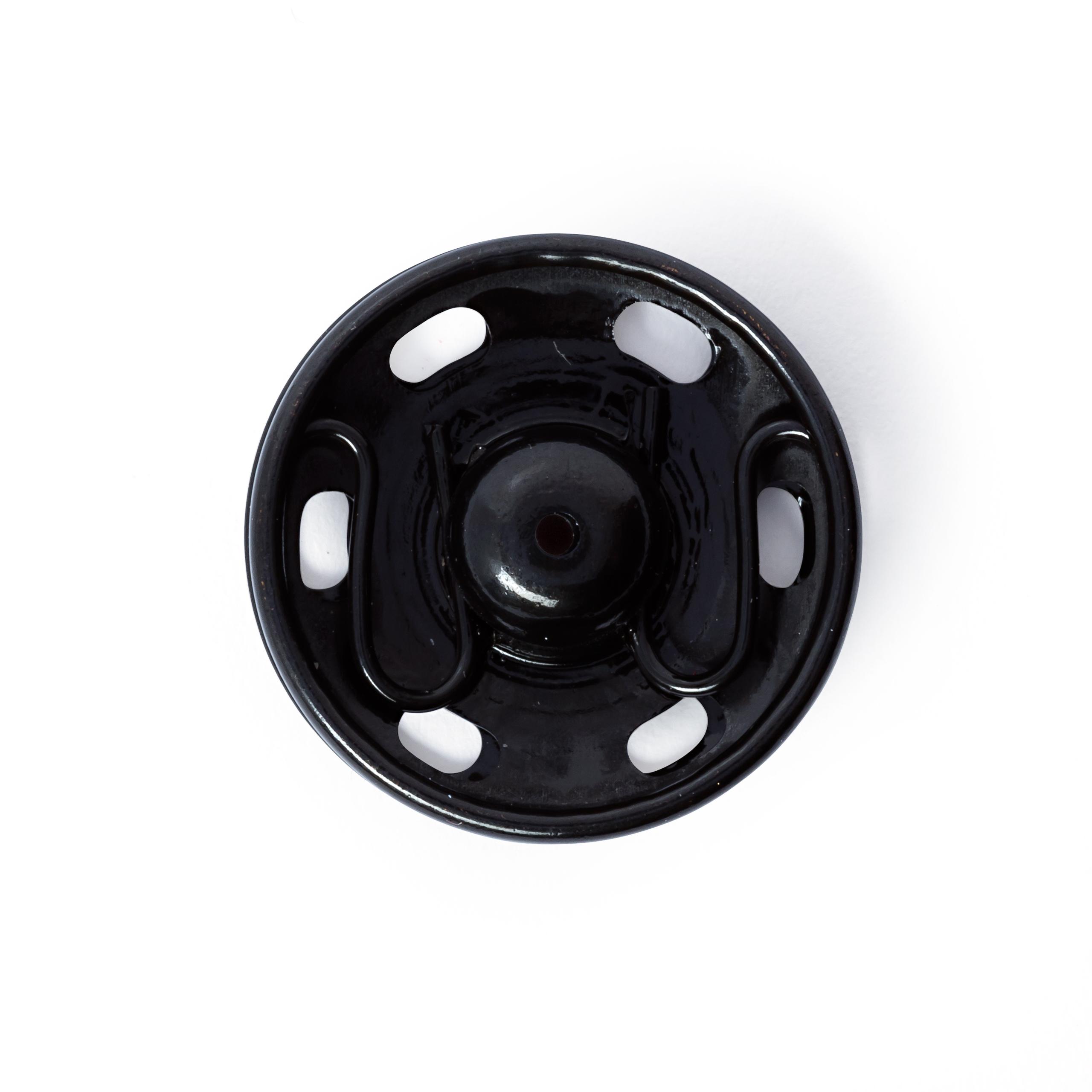 Druckknöpfe, schwarz, 4 Stück, 17 mm, Prym - Art. 341254