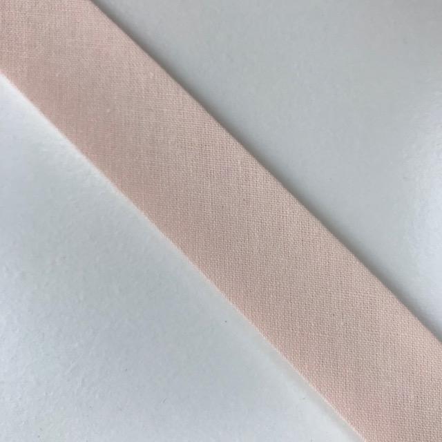Baumwollpopeline - Schrägband, hellrose. Art. SW11667
