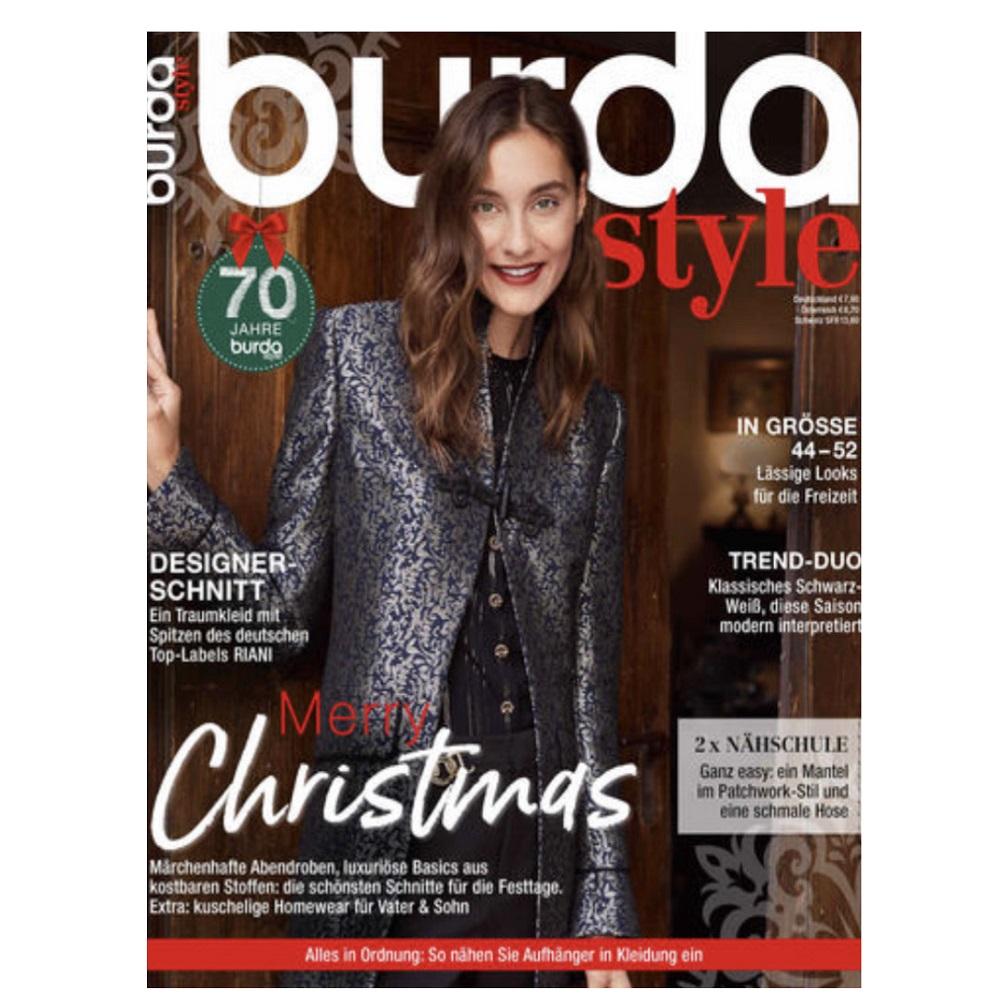 BURDA STYLE 12/2020