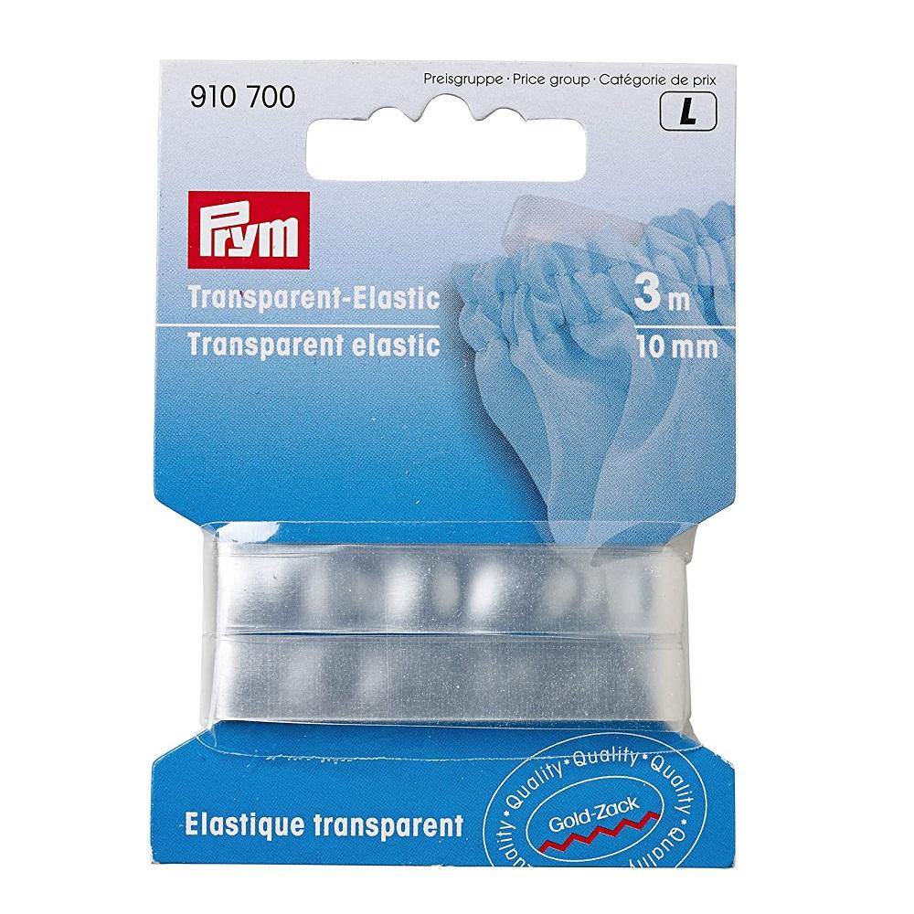 Transparent-Elastic 10mm.  Art. 910700
