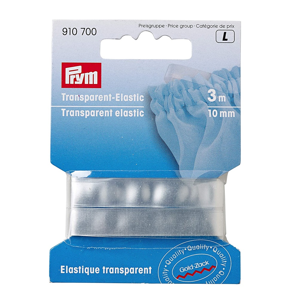 Transparent-Elastic 10mm.  Art. 910700