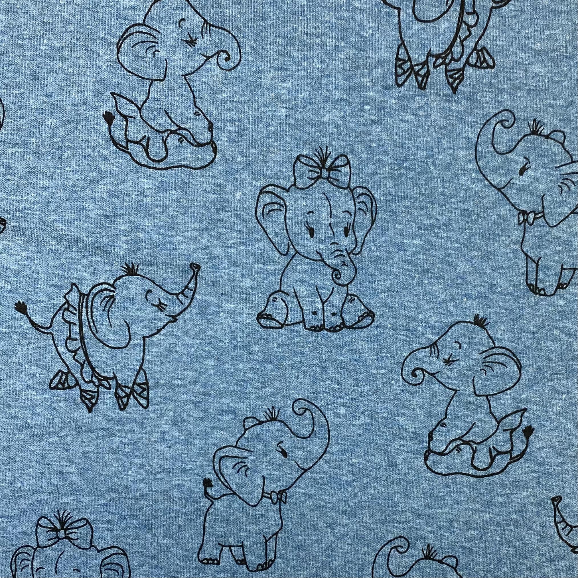 Alpenfleece, Elefanten. Art. KC8206-207