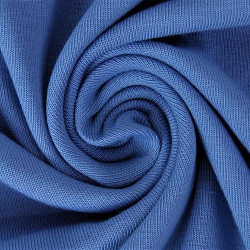 Baumwolljersey, uni, dunkles jeansblau. Art. 8973/309