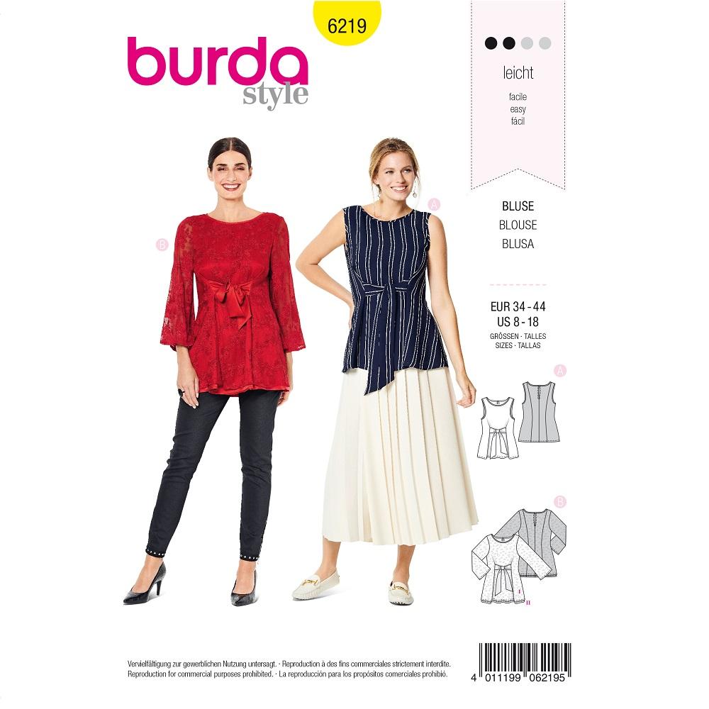 Blusen mit Bindeband F/S 2020 #6219