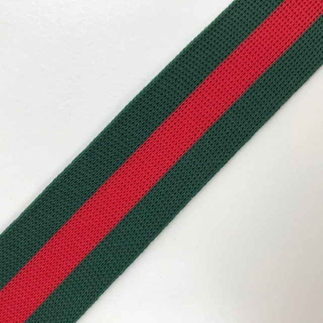 Galonband, Streifen, rot/grün. Art. SW11680
