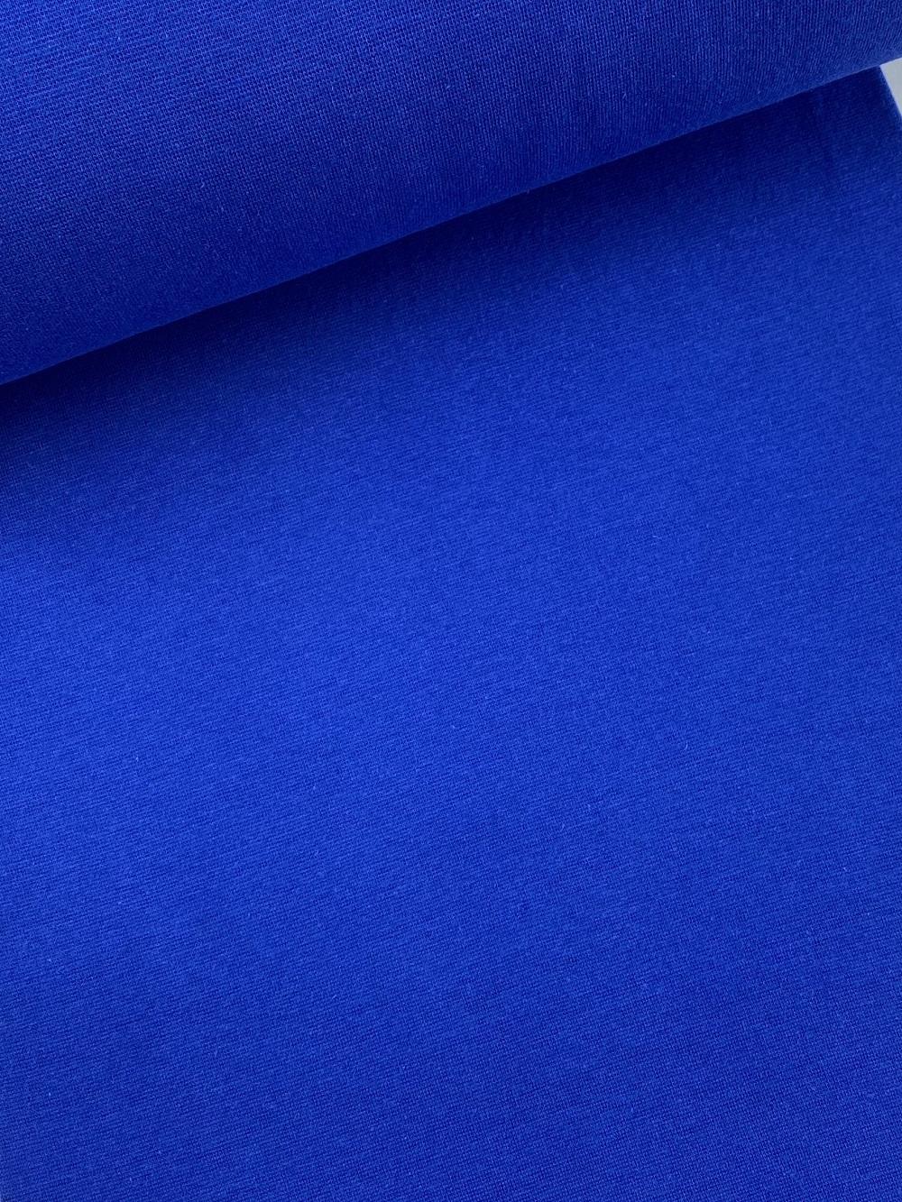 Bündchenware (glatt), königsblau. Art. SW10633
