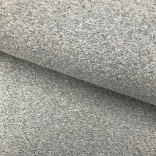Stepper Stoff, Cotton Diamond, hellgrau meliert. Art. 8242-065