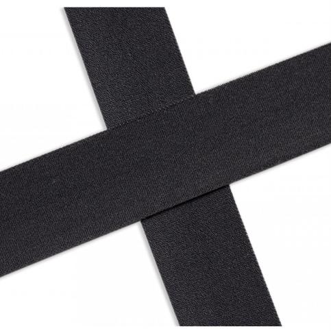 Elastisches Einfassband , matt - antraciet. Art.13-020-567