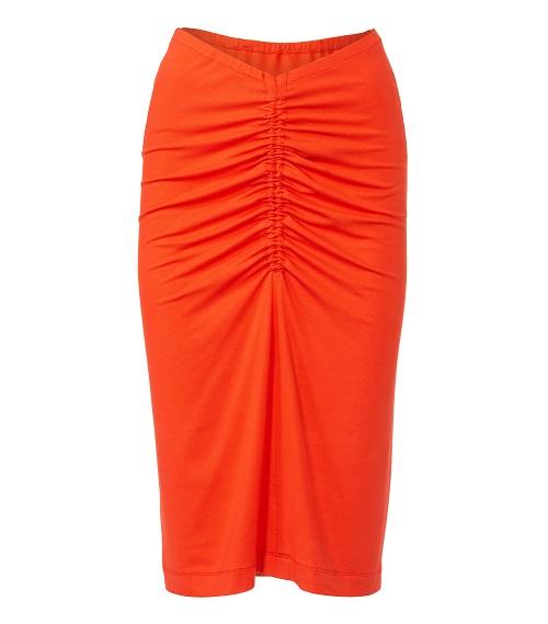 Röcke mit Raffungen in verschiedenen Längen #6125