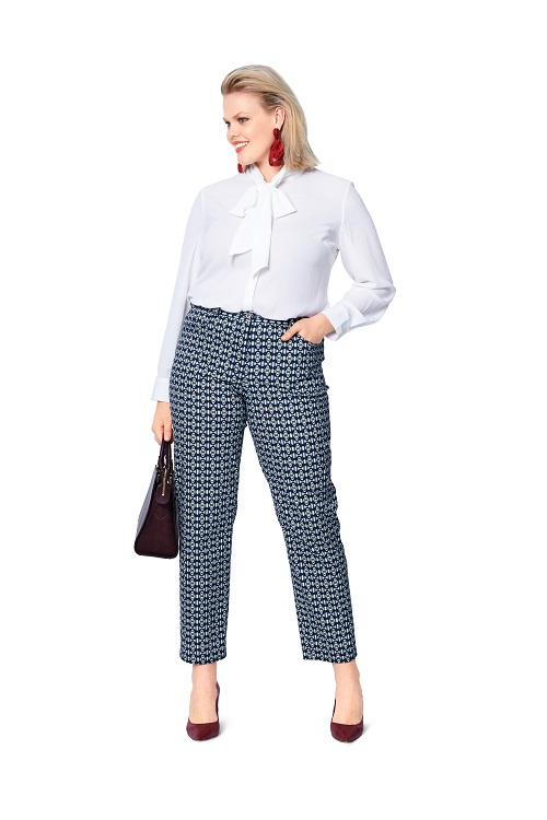 Schmale Hosen im Jeanslook #6103
