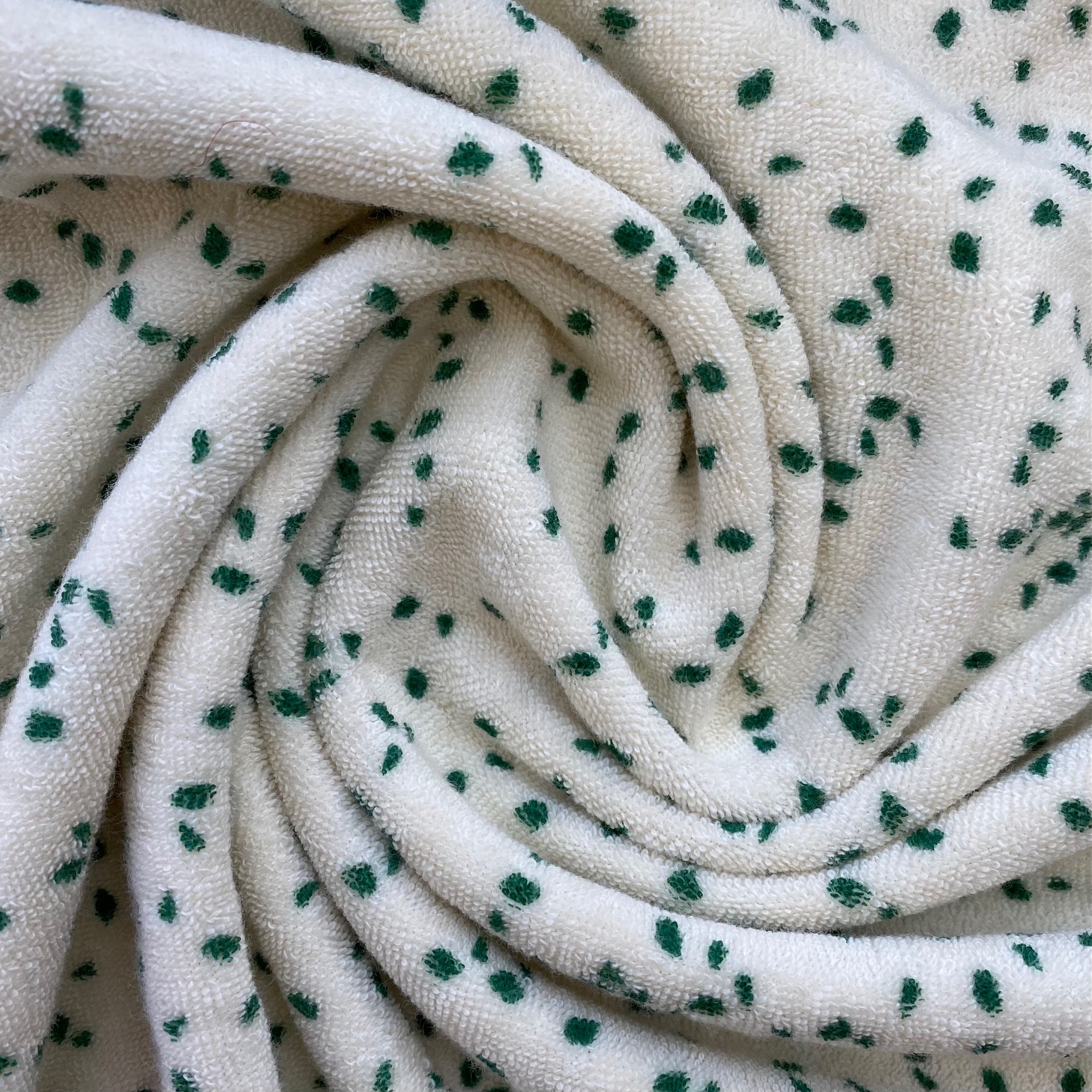 Fibre Mood #Lou, Frottee-Stretch, grün. Art. FM312500