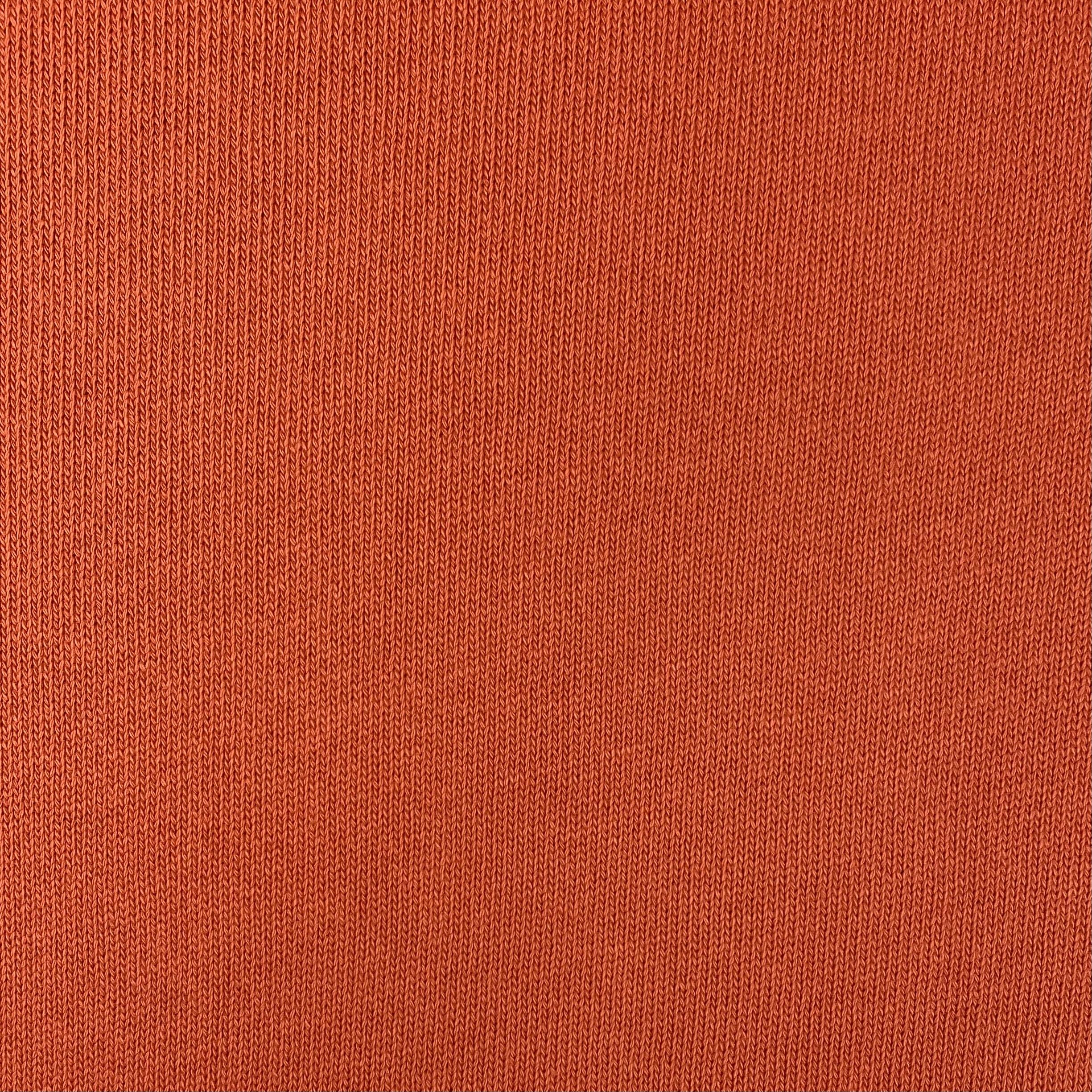 Feiner Strickstoff, Baumwolle rostrot. Art. 4199-62