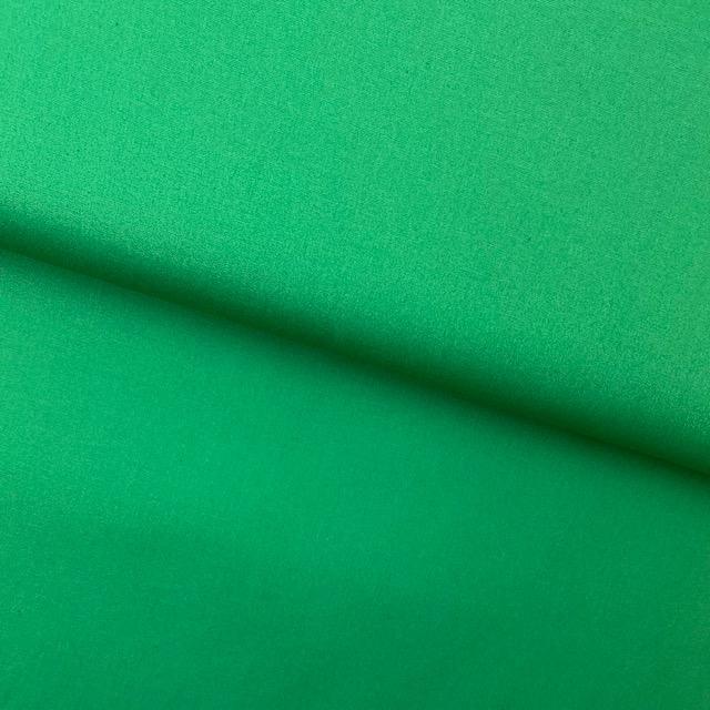Baumwollpopelin, Uni, grasgrün. Art. SW11425