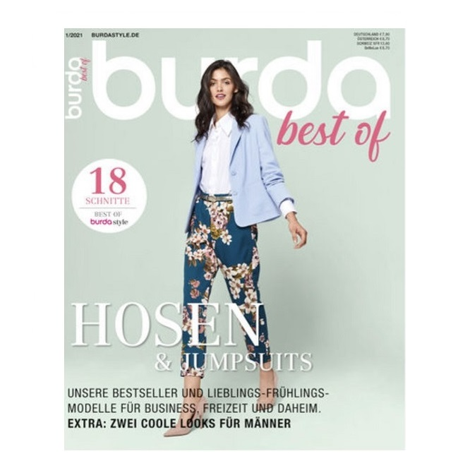 Burda Style best of Hosen & Jumpsuits 01/21