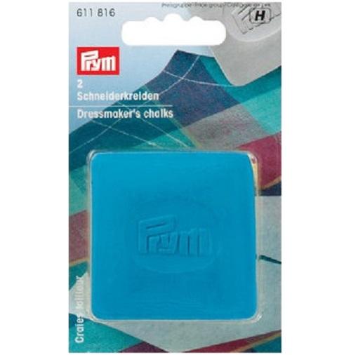 Schneiderkreide, blau 2 Stück. Prym Art. 611816