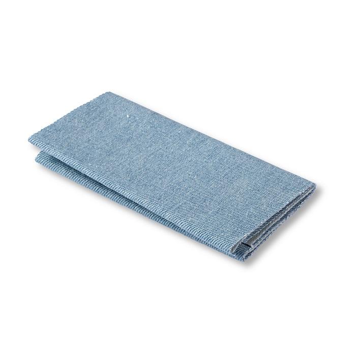Flickstoff Jeans, aufbügelbar, 12 x 45cm, hellblau. Art. 929551
