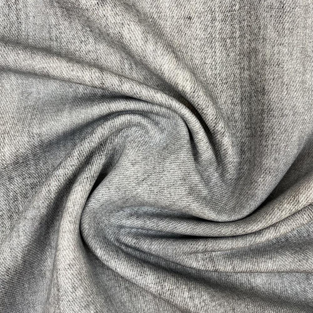 French Terry, Jeans Optik, hellgrau. Art. SW10087