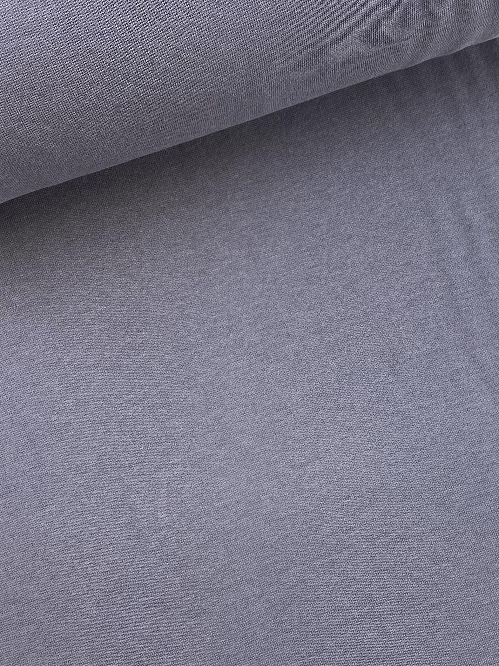 Bündchenware (glatt), silber grau. Art. SW10635