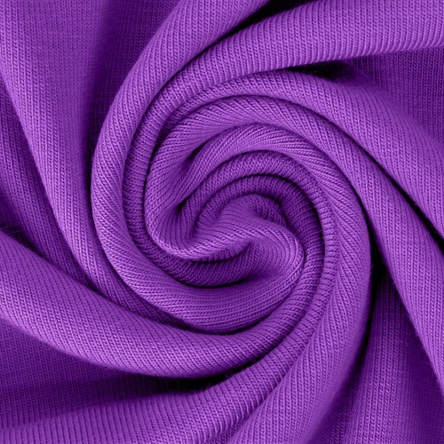 Baumwolljersey, uni, violett. Art. 8973/1145