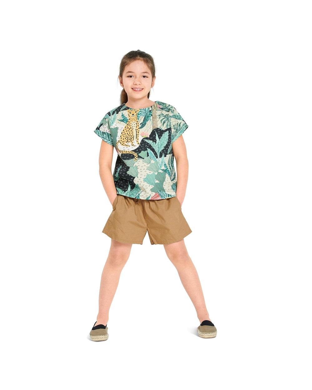 Shirt und Kleid Kinder. Burda #9282