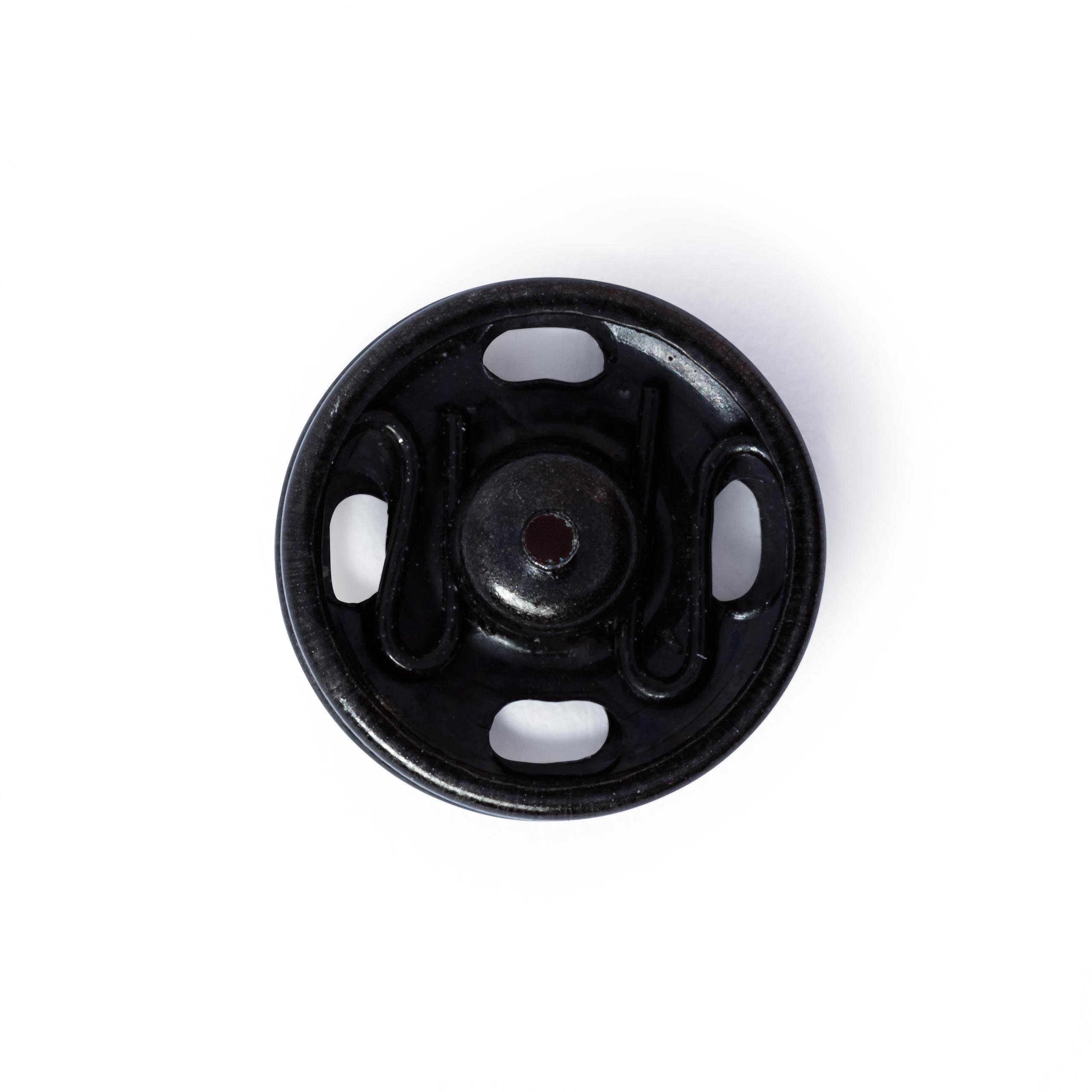 Druckknöpfe, schwarz, 6 Stück, 13 mm, Prym - Art. 341168
