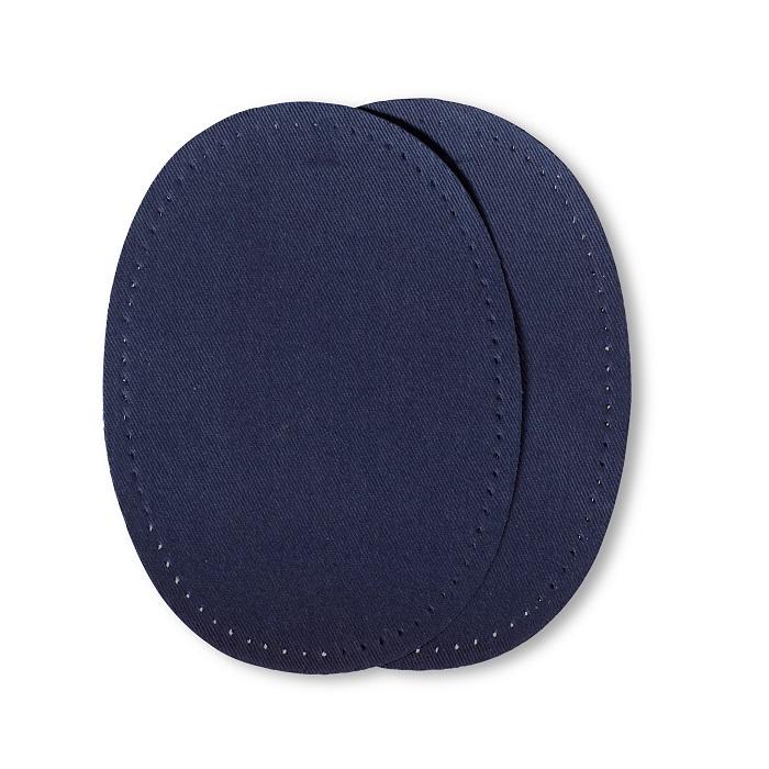 Patches Baumwolle, aufbügelbar, 10 x 14cm, marine. Art. 929311