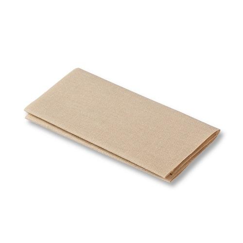 Flickstoff aufbügelbar, 12 x 45cm, beige. Art. 929404