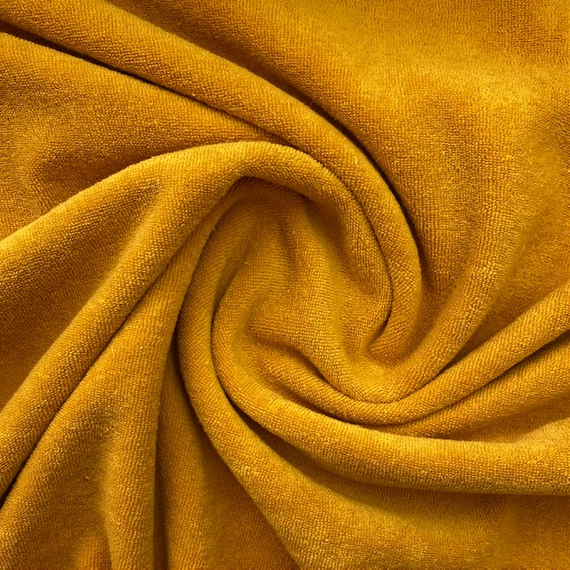 Frottee-Stretch, yellow. Art. 02551.026