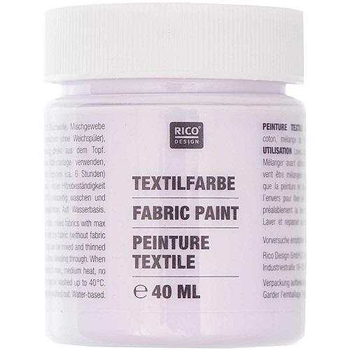 Textilfarbe, flieder, 40 ml, Rico Design. Art. 7014.508