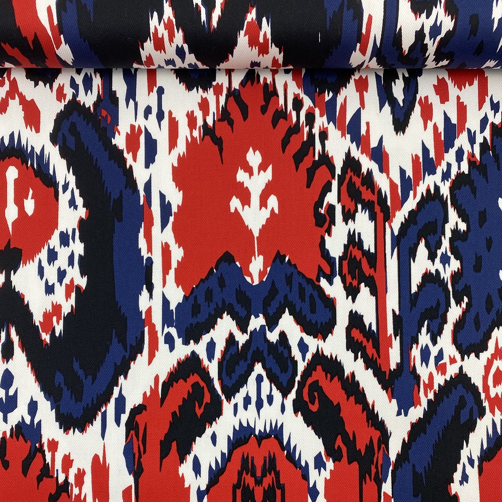 """Designer Baumwollstoff/Jeans """"Seride"""", Design-Linie. Art. S-1339-275"""