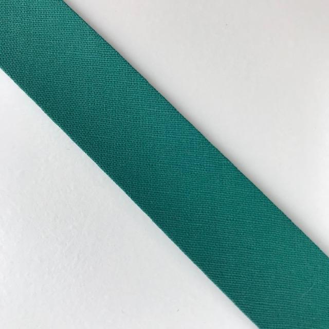 Baumwollpopeline - Schrägband, entengrün. Art. SW11659