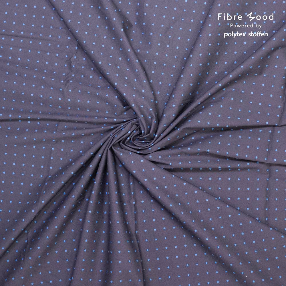 Fibre Mood #Rupert, Baumwolle Popeline, Sterne. Art. FM310121