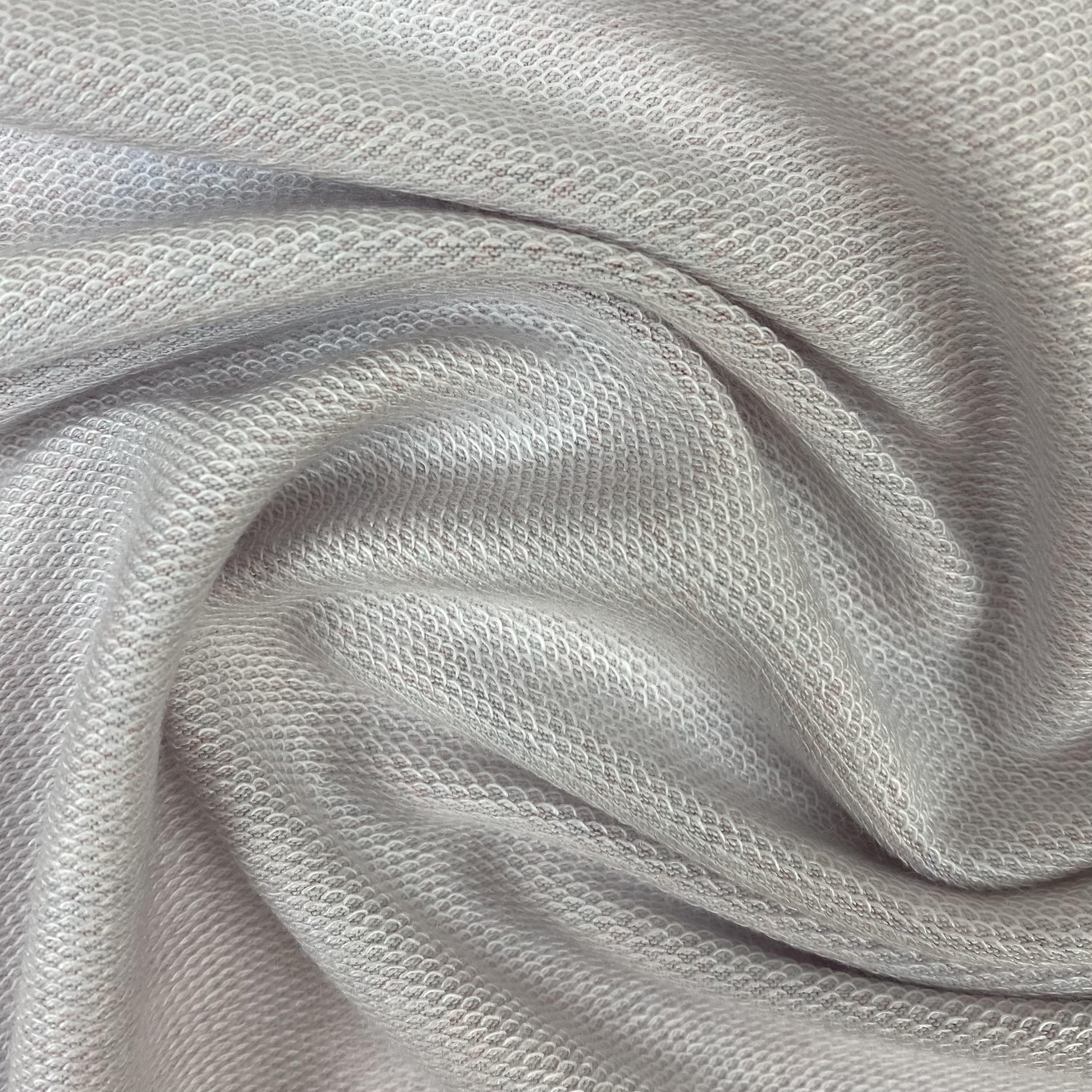 Modalsweat von Lillestoff, grau/lachs. Art. 14750