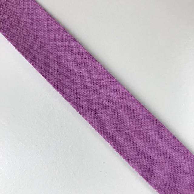 Baumwollpopeline - Schrägband, malve. Art. SW11656